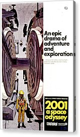 2001 A Space Odyssey, 1968 Acrylic Print by Everett