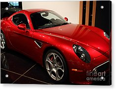 2008 Alfa Romeo 8c Competizione - 7d17230 Acrylic Print by Wingsdomain Art and Photography