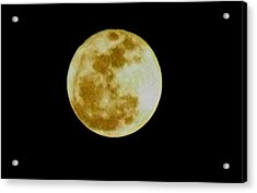 Acrylic Print featuring the photograph 2011 Full Moon by Maria Urso