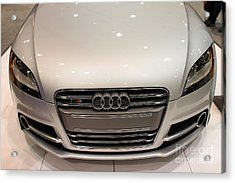 2012 Audi Tts . Silver . 7d9552 Acrylic Print by Wingsdomain Art and Photography