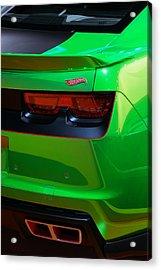 2012 Hot Wheels Chevrolet Camaro Concept Acrylic Print by Gordon Dean II