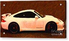 2012 Porsche 911 Carrera Gts Acrylic Print by Wingsdomain Art and Photography