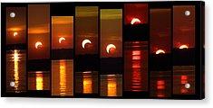 2012 Solar Eclipse Acrylic Print