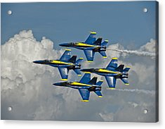 2012 U.s. Navy Blue Angels Acrylic Print