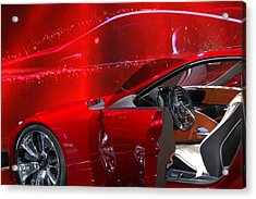 2013 Lexus L F - L C Acrylic Print