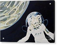 2057 Acrylic Print by Florian Divi