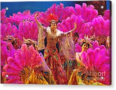 Asian Splendors Series Acrylic Print by Terry Troupe