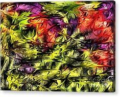Acrylic Print featuring the digital art 2312 by Leo Symon