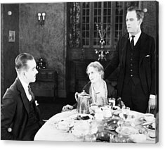 Film Still: Eating & Drinking Acrylic Print by Granger