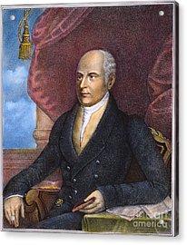 John Quincy Adams Acrylic Print by Granger