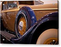 1934 Lincoln Kb V-12 Dietrich Acrylic Print