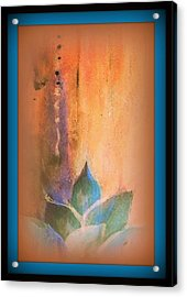 Ancient Lotus Acrylic Print by Wendy Wiese