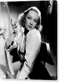 Angel, Marlene Dietrich, 1937 Acrylic Print by Everett