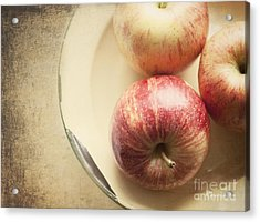3 Apples Acrylic Print