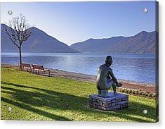 Ascona - Lake Maggiore Acrylic Print by Joana Kruse