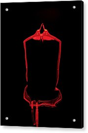 Blood Bag Acrylic Print by Tek Image