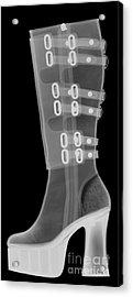 Boot, X-ray Acrylic Print by Ted Kinsman