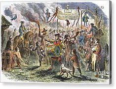 Boston: Stamp Act Riot, 1765 Acrylic Print by Granger