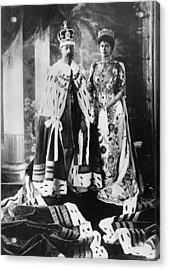British Royalty. King George V Acrylic Print by Everett