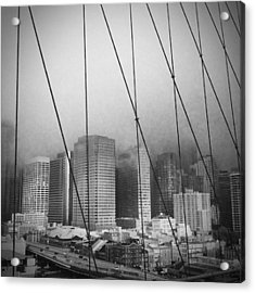 Brooklyn Bridge Acrylic Print by Eli Maier