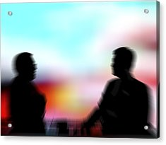Businessmen Acrylic Print by Pasieka