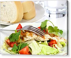 Chicken Salad Acrylic Print by Blink Images
