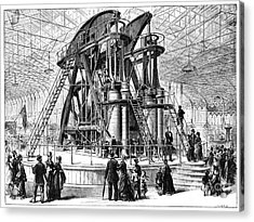 Corliss Steam Engine, 1876 Acrylic Print by Granger