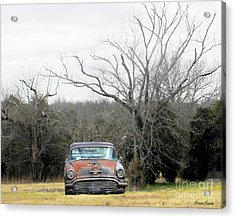 Days Gone By Acrylic Print by Lorraine Louwerse