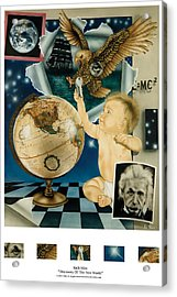 Discovery Of The New World Acrylic Print by Rich Milo