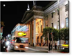 Dublin General Post Office Acrylic Print by Josh Whalen
