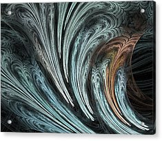Ferns Acrylic Print by Michele Caporaso