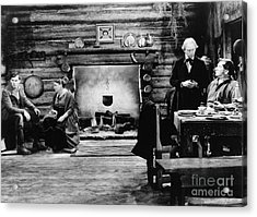 Film Still: Abraham Lincoln Acrylic Print by Granger