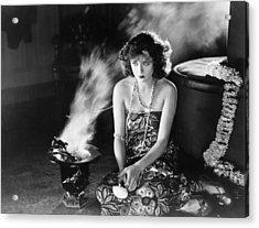 Film Still: Fortune Telling Acrylic Print by Granger