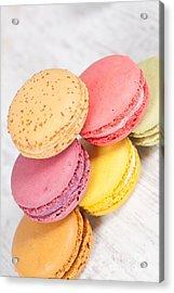 French Macarons Acrylic Print by Sabino Parente