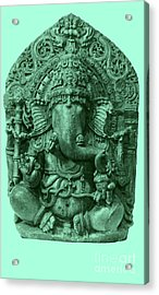 Ganesha, Hindu God Acrylic Print by Photo Researchers