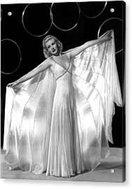 Ginger Rogers, In A Publicity Portrait Acrylic Print by Everett
