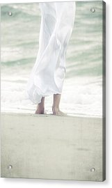 Girl At The Sea Acrylic Print by Joana Kruse