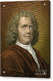 Herman Boerhaave, Dutch Physician Acrylic Print by Science Source