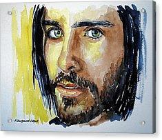 Jared Leto Acrylic Print by Francoise Dugourd-Caput