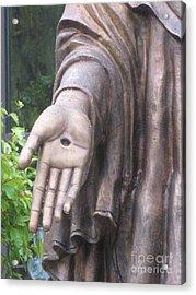 Jesus - Christian Art - Religious Statue Of Jesus Acrylic Print