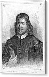 John Bunyan (1628-1688) Acrylic Print by Granger