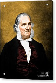 John James Audubon, French-american Acrylic Print by Science Source