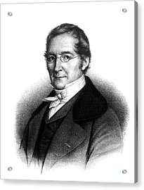 Joseph Gay-lussac, French Chemist Acrylic Print by Science Source