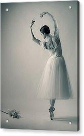 La Giselle Acrylic Print by Nikolay Krusser