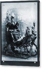 Lillian Russell 1861-1922, American Acrylic Print by Everett