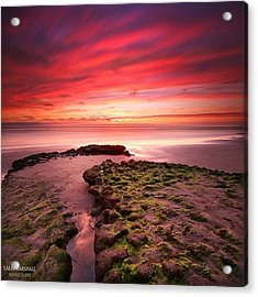 Long Exposure Sunset At A North San Acrylic Print