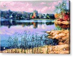 Longview Lake Acrylic Print by Laurie Douglas