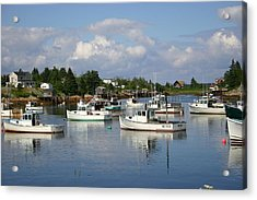 Maine Acrylic Print by Jeanne Andrews