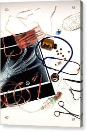 Medical Treatment, Conceptual Image Acrylic Print by Tek Image