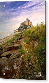 Mont-saint-michel France Acrylic Print